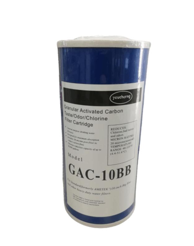 Granuliuotos anglies elemenas GAC-10BB  big Blue korpusams