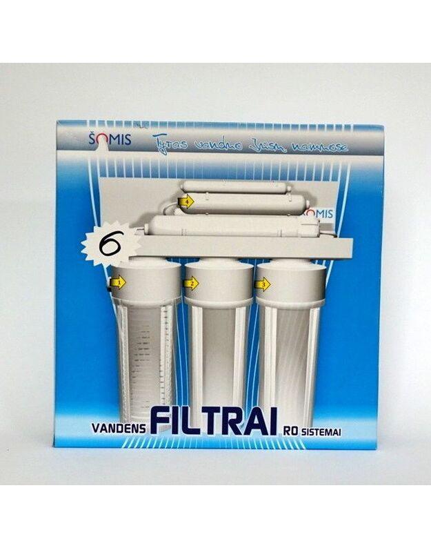 Vandens filtrai RO sistemai 6mėn