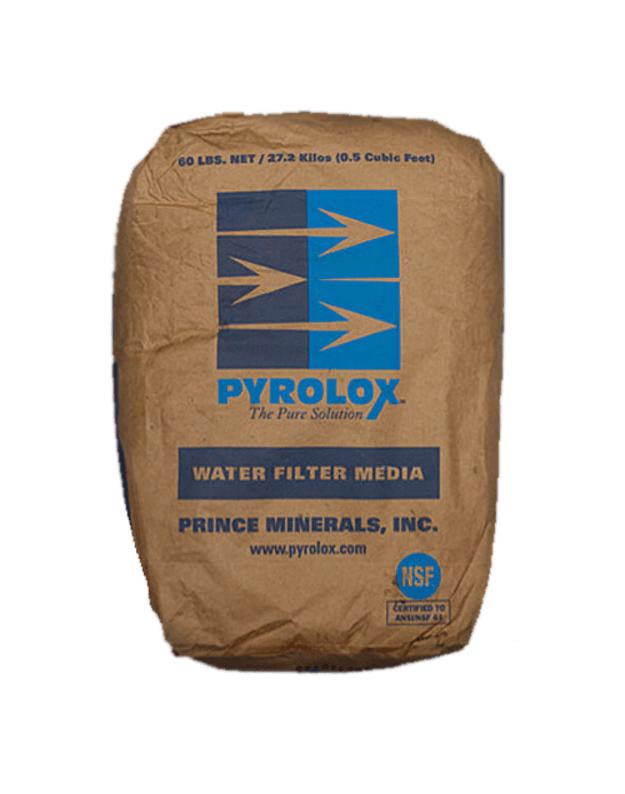 Pyrolox - oksidacinis užpildas geležies ir mangano šalinimui
